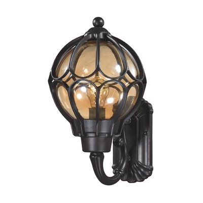 Madagascar 1-Light Outdoor Barn Light Size: 16 H x 9 W x 9 D