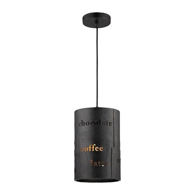 Boothby 1-Light Mini Pendant Size: 11 H x 7 W x 7 D