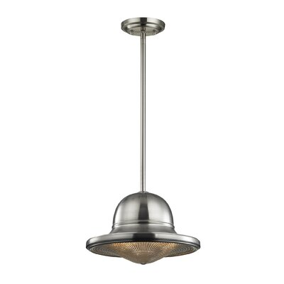 Crase 1-Light Mini Pendant Finish: Brushed Nickel