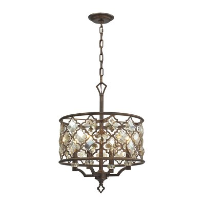 Armand 4-Light Drum Pendant
