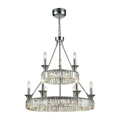 Korth 9-Light Candle-Style Chandelier