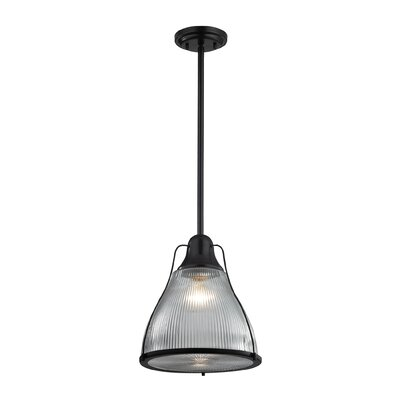 Crown Heights 1-Light Mini Pendant Finish: Oil Rubbed Bronze