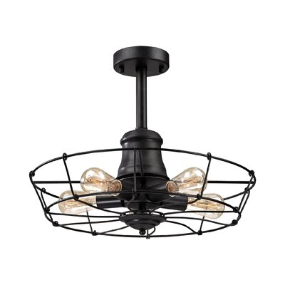 Glendora 5-Light Semi Flush Mount