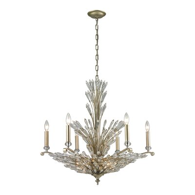 Gillian 9-Light Candle-Style Chandelier