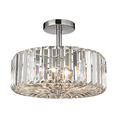 Eileen 3-Light Semi Flush Mount