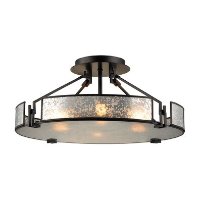 Lindhurst 4-Light Semi-Flush Mount