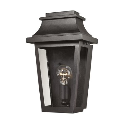 Covina 1-Light Outdoor Wall Lantern