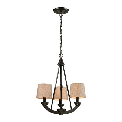 Morrison 3-Light Shaded Chandelier