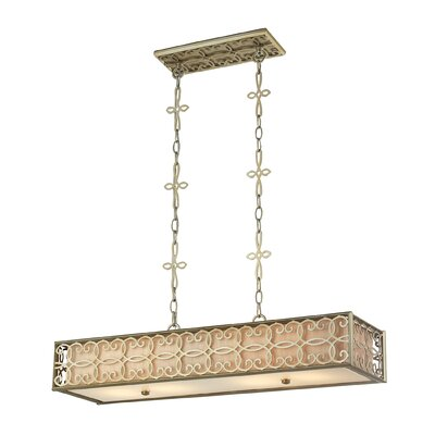 Santa Monica 4-Light Kitchen Island Pendant