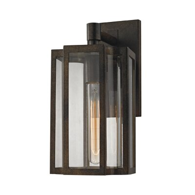 Bianca 1-Light Outdoor Wall lantern Size: 13 H x 6 W x 6 D