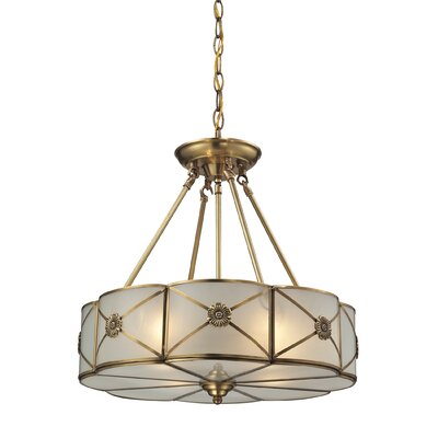Preston 4-Light Drum Pendant