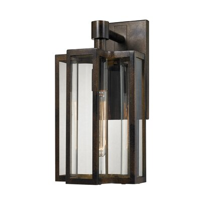 Bianca 1-Light Outdoor Wall lantern Size: 16 H x 8 W x 8 D