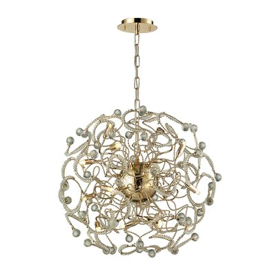 Zebula 16-Light Sputnik Chandelier