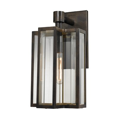 Bianca 1-Light Outdoor Wall lantern Size: 20 H x 10 W x 10 D