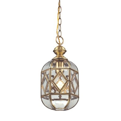 Lavery 1-Light Foyer Pendant