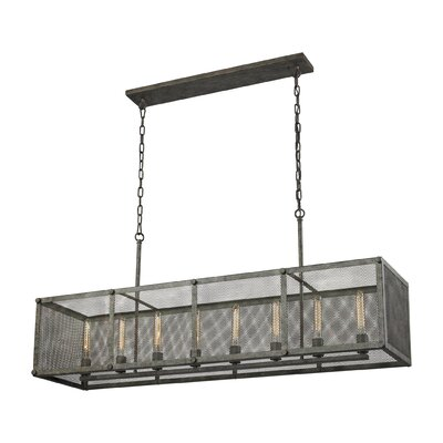 Perry 8-Light Kitchen Island Pendant