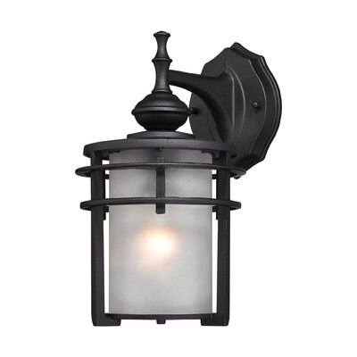 Meadowview 1-Light Outdoor Wall Lantern Size: 11 H x 6 W x 6 D