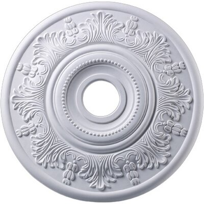 Laureldale Medallion Size / finish: 30 / White