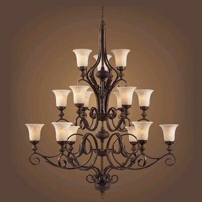Briarcliff 15-Light Shaded Chandelier