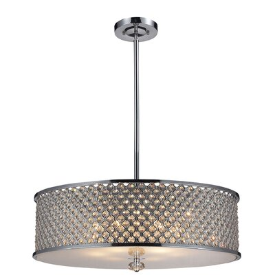 Freeport 6-Light Drum Pendant