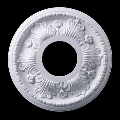 Acanthus Ceiling Medallion Finish: White