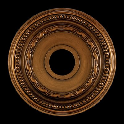 Campione Ceiling Medallion Finish: Antique Brass