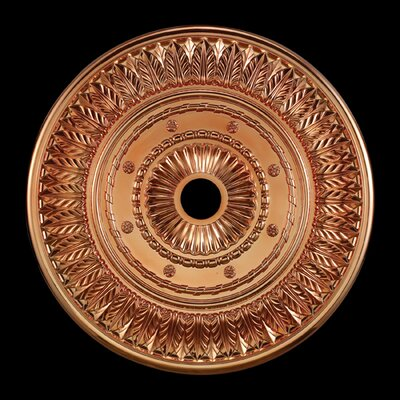 Corinna Ceiling Medallion Finish: Copper