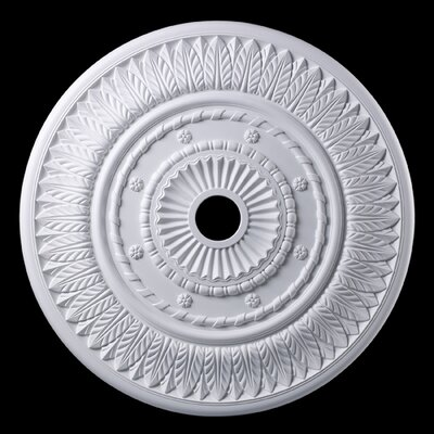 Corinna Ceiling Medallion Finish: White