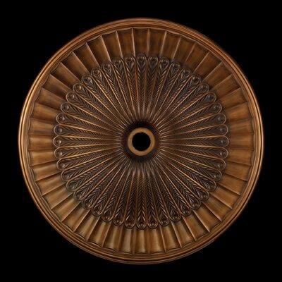 Hillspire Ceiling Medallion Size / finish: 24 / Anitque Brass