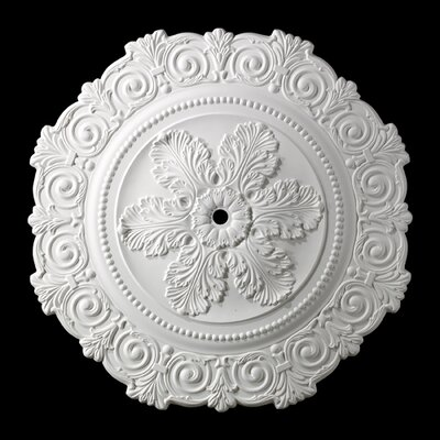 Marietta Ceiling Medallion Finish: White