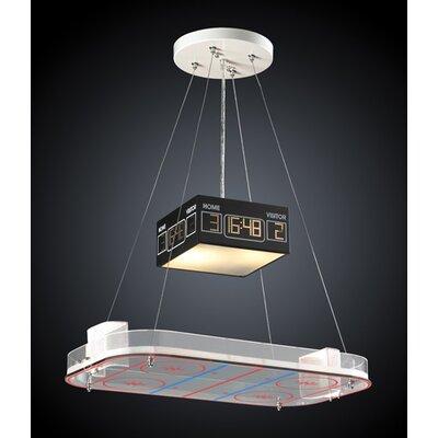 Light Pendant on Elk Lighting Novelty Pendant In Hockey   5138 2