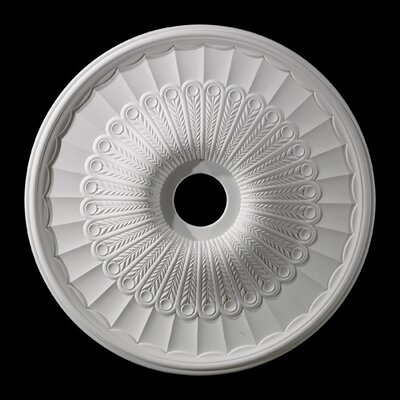 Hillspire Ceiling Medallion Size / finish: 51 / White