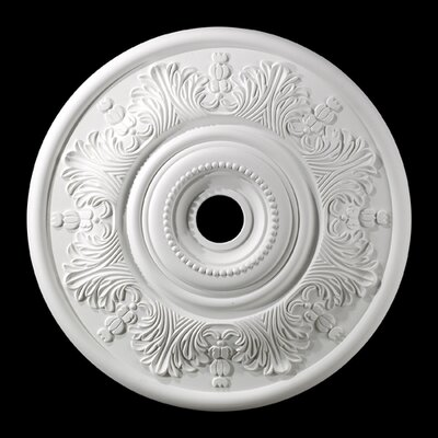 Laureldale Medallion Size / finish: 20.5 / White