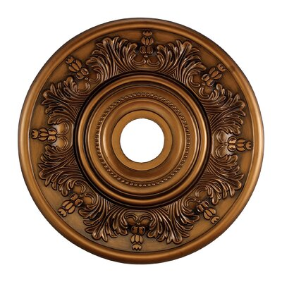 Laureldale Medallion Size / Finish: 30 / Antique Brass