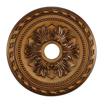 Ceiling Medallion Finish: Antique Brass