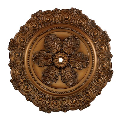 Marietta Ceiling Medallion Finish: Antique Brass
