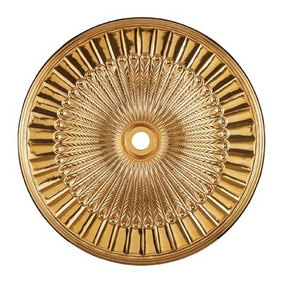 Hillspire Ceiling Medallion Size / finish: 51 / Gold