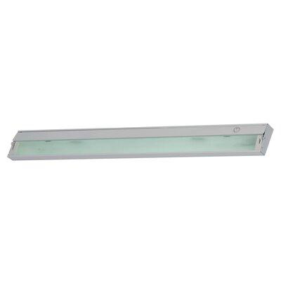 Aurora 4.75 Xenon Under Cabinet Bar Light Finish: Stainless Steel
