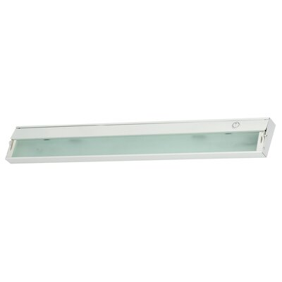 Aurora 4.75 LED Under Cabinet Bar Light Finish: White