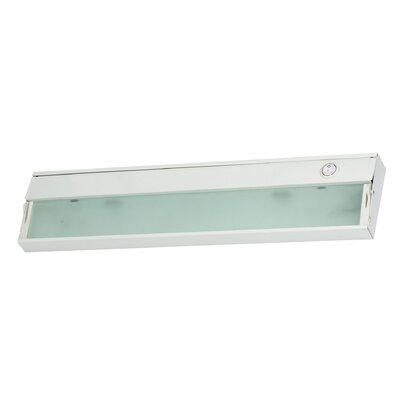 Aurora 17.5 Xenon Under Cabinet Bar Light Finish: White