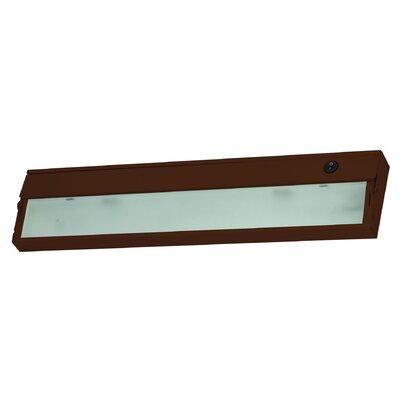 Aurora 4.75 Xenon Under Cabinet Bar Light Finish: Bronze