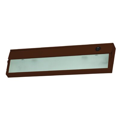 Aurora 4.75 Xenon Under Cabinet Bar Light Finish: Bronze