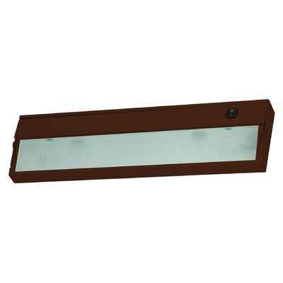 Aurora 9 Xenon Under Cabinet Bar Light Finish: Bronze