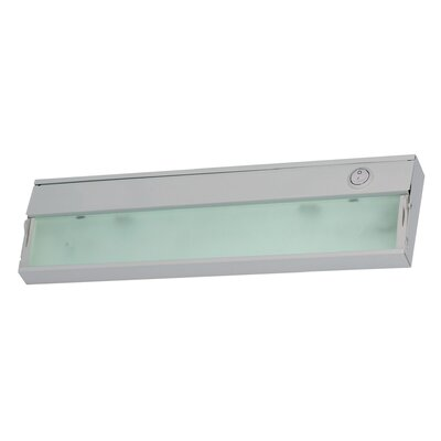 Aurora 4.75 Xenon Under Cabinet Bar Light Finish: Stainless Steel