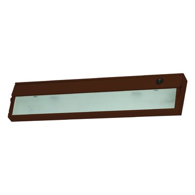 Aurora 17.5 Xenon Under Cabinet Bar Light Finish: Bronze