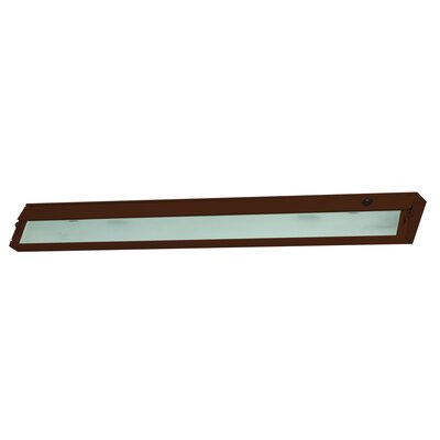 Aurora 4.75 LED Under Cabinet Bar Light Finish: Bronze
