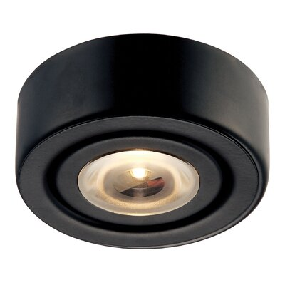 Alpha LED Recessed Individual Spotlight Finish: Black
