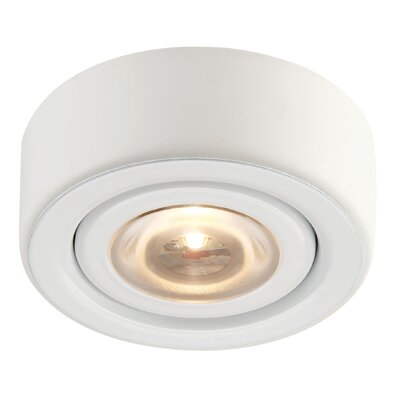 Alpha LED Recessed Individual Spotlight Finish: White