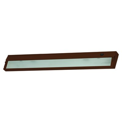 Aurora 34.5 Xenon Under Cabinet Bar Light Finish: Bronze