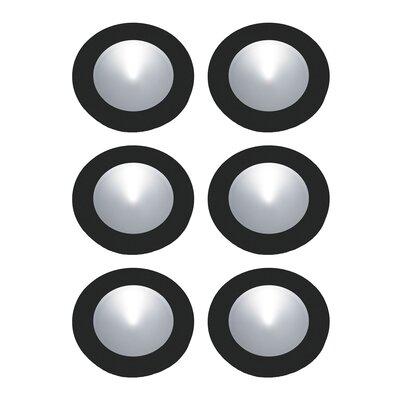 Ursa LED Recessed Individual Spotlight Finish: Black